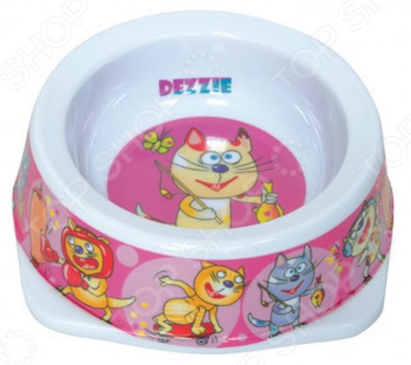 Миска для кошек DEZZIE «Рыбак» гамма миска для кошек и собак n1
