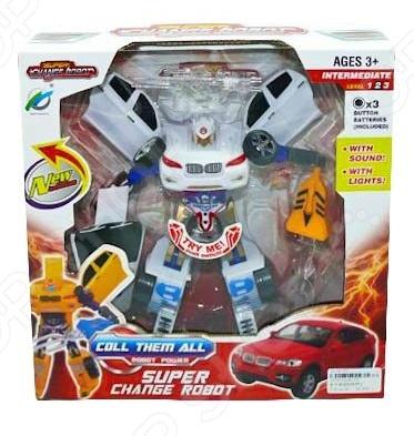Робот-трансформер интерактивный Shantou Gepai 625483 интерактивный робот crazon