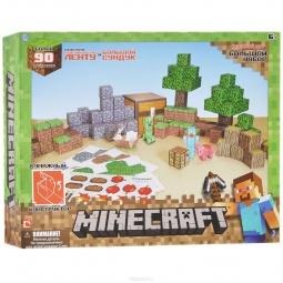 Купить Конструктор бумажный Minecraft «Большой набор»