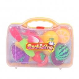 фото Игровой набор для девочки Zhorya «Продуктовый набор. Рыба и фрукты»