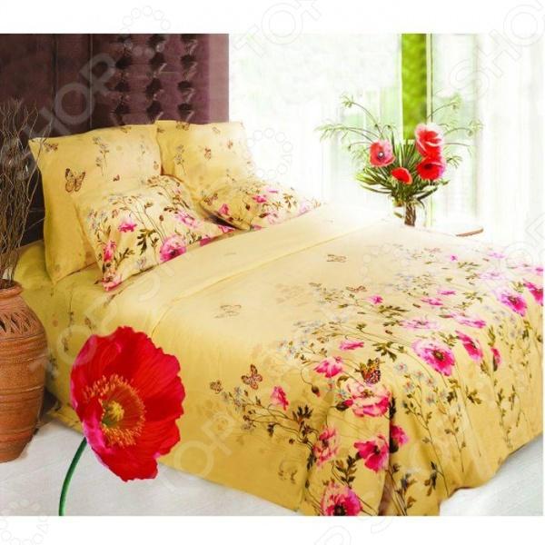 Комплект постельного белья Сова и Жаворонок «Полянка» 9999/1 для спальни