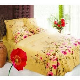фото Комплект постельного белья Сова и Жаворонок «Полянка» 9999/1. 1,5-спальный