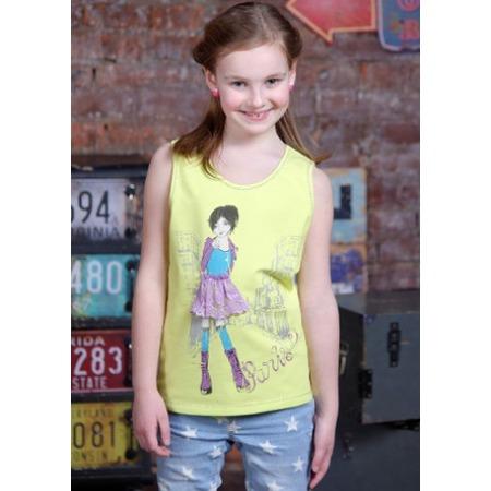 Купить Майка для девочек Detiland SS15-UBL-GTP-951. Цвет: лайм