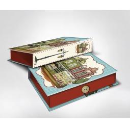 фото Шкатулка-коробка подарочная Феникс-Презент «Амстердам». Размер: M (20х14 см). Высота: 6 см