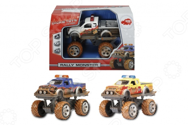 Машинка игрушечная Dickie «Внедорожник с имитацией грязи». В ассортименте