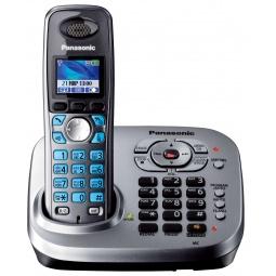 фото Радиотелефон Panasonic KX-TG8041. Цвет: серый
