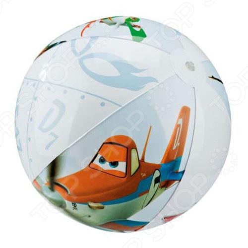 Мяч надувной Intex Самолеты - это яркий, детский, сделанный из прочного материала игровой мяч, который подарит море позитива, веселое времяпрепровождение, а также улыбку на лице детишек. Отлично подходит для игры бассейне. Разумная цена, хорошее качество и море позитива.