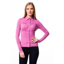 фото Блузка Mondigo 517. Цвет: темно-розовый. Размер одежды: 44
