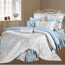 фото Комплект постельного белья Романтика «Миледи». 1,5-спальный. Размер наволочки: 50х70 см — 2 шт