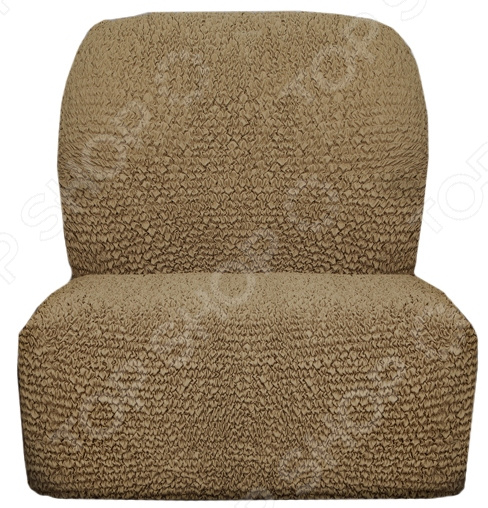 Натяжной чехол на кресло без подлокотников «Микрофибра. Кофейный»Чехлы на кресла<br>Натяжной чехол на кресло без подлокотников Микрофибра. Кофейный подарит вторую жизнь старому креслу. Вам надоело однообразие, хотите обновить приевшийся интерьер Совсем не обязательно для этого покупать новую мебель, ведь сегодня можно легко подобрать красивый чехол из богатого ассортимента. При этом изделие выполняет не только эстетическую функцию, но и защитную: от случайных пятен, царапин, протирания и шерсти животных.  Однако чехол окажется полезен и в другой ситуации. Допустим, вы сделали ремонт в комнате, и старое кресло уже не вписывается по стилю в интерьер помещения. Не беда! Просто подберите подходящий чехол и готово. Он без особого труда надевается на кресла практически любого типа и также легко снимается. Изделие сшито из приятной на ощупь ткани, обладающей следующими свойствами:  прочность и износостойкость;  хорошая растяжимость благодаря эластичным нитям в составе ткани;  устойчивость к деформации даже после стирки ;  долго сохраняет свой оригинальный цвет.  Материал не требует особого ухода. Допускается ручная или машинная стирка при температуре от 30 до 40 C без применения отбеливающих средств. Одежда для вашей мебели Способов обновить старую мебель не так много. Чаще всего приходится ее выбрасывать, отвозить на дачу или мириться с потертостями и поблекшими цветами. Особенно обидно избавляться от мебели, когда она сделана добротно, но обивка подвела. Эту проблему решают съемные чехлы для мебели, быстро набирающие популярность в России.  Незаменимы чехлы для мебели в домах с маленькими детьми и домашними животными, в гостиных, где устраиваются застолья и посиделки, в интерьерах офисов. В съемных квартирах они помогут сохранить чистоту и гигиеничность. Но все-таки главное их предназначение это эстетическое обновление интерьера. Узнайте больше о плюсах приобретения еврочехлов:  Дизайн еврочехлов исполнен в русле самых свежих трендов рынка интерьерного текстиля. В линейк