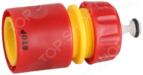 Соединитель с усиленным пластиком и автостопом Grinda Соединитель с усиленным пластиком и автостопом Grinda 8-426329_z01 /1/2