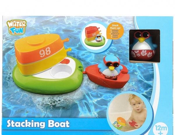 Набор для ванны Toy Target «Лодка с шлюпками»