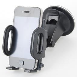 фото Держатель автомобильный на стекло Loctek для iPhone и мобильных телефонов