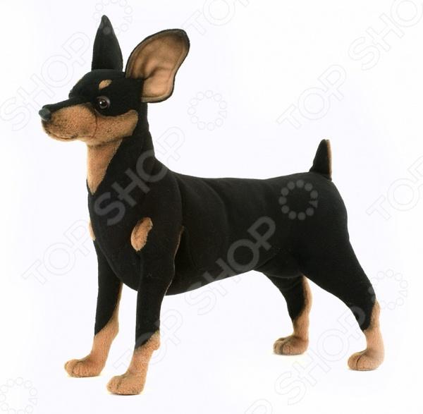 Мягкая игрушка Hansa «Собака породы цвергпинчер» hansa мягкая игрушка сова hansa 25см