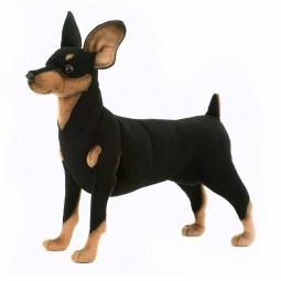 фото Мягкая игрушка Hansa «Собака породы цвергпинчер»
