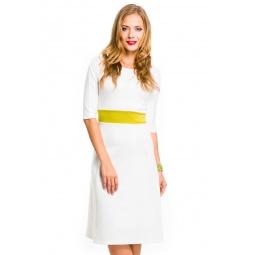 фото Платье Mondigo 5083. Цвет: молочный. Размер одежды: 48