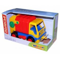 фото Машинка игрушечная Полесье «Базик коммунальный». В ассортименте