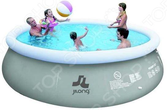 Бассейн надувной Jilong Prompt Set Pools JL017526NGНадувные бассейны<br>Надувные бассейны это прекрасная альтернатива стационарным. Возведение и обустройство последних представляет собой очень трудоемкий и дорогостоящий процесс, в то время как для установки надувного бассейна вам понадобится всего пару минут. Бассейн надувной Jilong Prompt Set Pools JL017526NG подойдет как для взрослых, так и для детей. Благодаря относительно небольшому весу и компактной конструкции, его можно установить в любом, удобном для вас месте. Лучше всего для этого подойдет дачный участок или двор загородного дома. Бассейн выполнен из трехслойного ПВХ-материала и снабжен фильтр-насосом, картриджем и самоклеющейся накладкой. Для его сборки требуется всего 10-15 минут, при этом надувается только верхняя часть бортика. В комплект поставки входит лестница, подстилка и чехол.<br>