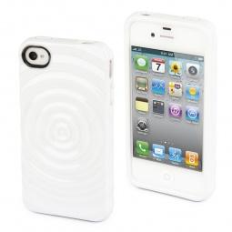 фото Чехол и пленка на экран Muvit Minigel 3D Drop Back Cover для iPhone 4S