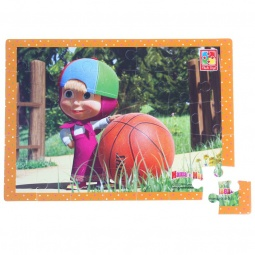 фото Пазл мягкий Vladi Toys «Маша и мяч»