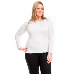 фото Кофта Mondigo XL 1470. Цвет: молочный. Размер одежды: 50