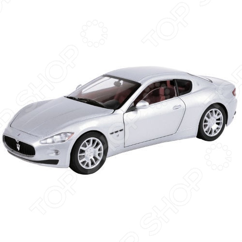Модель автомобиля 1:24 Motormax Maserati Gran Turismo машинки autotime машина bavaria gran turismo пожарная охрана