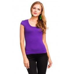 фото Футболка Mondigo 7001. Цвет: фиолетовый. Размер одежды: 42