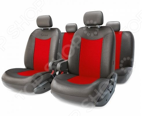 Набор чехлов для сидений с аэробэгом Autoprofi GND-1305GF Grand Full