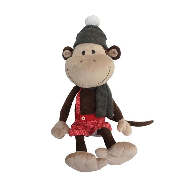 фото Мягкая игрушка Maxitoys «Обезьян Валек в шапке»