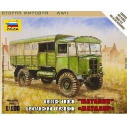 """фото Сборная модель Звезда британский грузовик """"Матадор"""""""