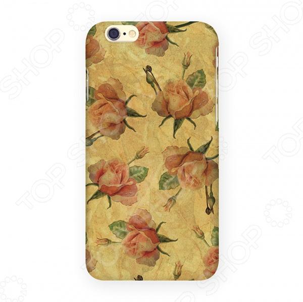 Чехол для iPhone 6 Mitya Veselkov «Нежные розы»