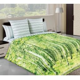 фото Комплект постельного белья Белиссимо «Березы». 2-спальный. Размер простыни: 220х195 см
