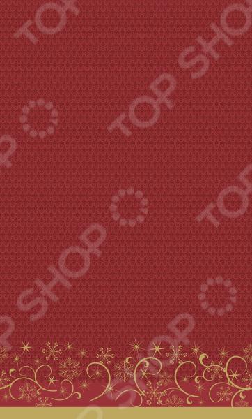 Скатерть Duni 171823Скатерти. Салфетки<br>Скатерть Duni 171823 это утонченная скатерть, которой вы можете накрыть стол, для того, что бы защитить дорогостоящую поверхность стола от загрязнений и повреждений. Кроме того, любой ужин будет совсем другим, если украсить стол скатертью. Вы можете использовать скатерть для декорации дефектов поверхности, либо использовать для непосредственного дополнения интерьера. Можно отметить следующие преимущества этого изделия:  Скатерть бумажная, а значит любые загрязнения легко отстирываются.  Ткань не деформируется.  Подходит для организации пикников на природе и детских мероприятий. Бренд Duni уже многие годы радует своих покупателей текстилем удивительного качества. Товары этого бренда удачно смотрятся на любых мероприятиях, а разнообразие расцветок позволит подобрать скатерть к каждому приёму. Текстиль этого бренда отличает высокое качество и экологичность материалов. Скатерть Duni может стать удачным подарком на любой праздник!<br>