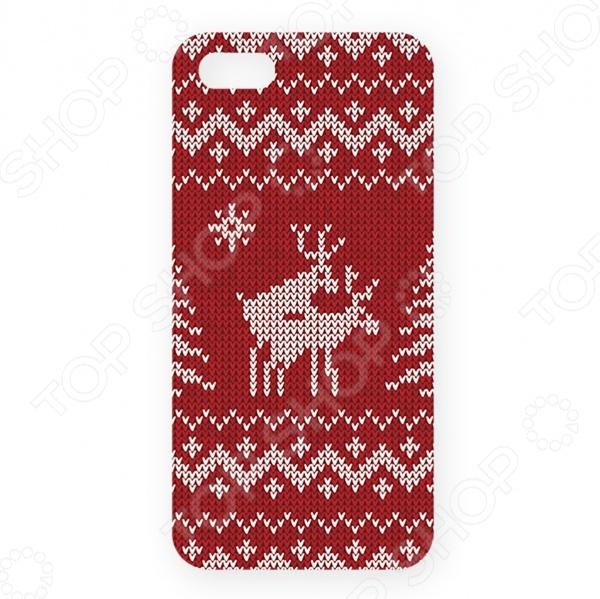 Чехол для iPhone 5 Mitya Veselkov «Скандинавская любовь» mitya veselkov чехол для iphone 6 скандинавская лошадка