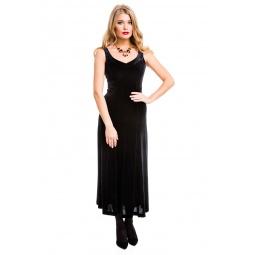 фото Платье Mondigo 7017. Цвет: черный. Размер одежды: 48