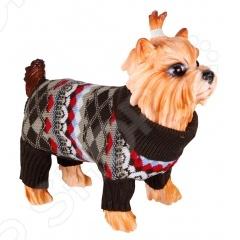 Свитер для собак DEZZIE 562516 свитер для собак dezzie 561507 цвет бежевый