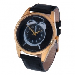 фото Часы наручные Mitya Veselkov «Будильник» Gold