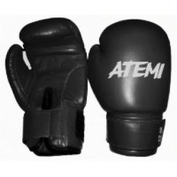 фото Перчатки боксерские ATEMI PBG-410 черный. Размер: 8 OZ
