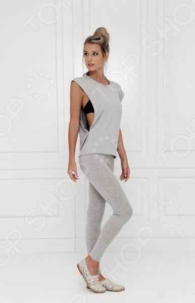 Лосины домашние Milliner 16529. Цвет: серыйДомашние комплекты<br>Лосины домашние Milliner 16529. Цвет: серый практичный и удобный элемент женского гардероба. Лосины выполнены из высококачественной вискозы, который обеспечивает прекрасное прилегание, комфортную посадку, удивительную мягкость и приятные прикосновения. Изделия может использовать, как в качестве домашней одежды, так и качестве комплекта для активного отдыха на природе. Леггинсы также отлично подойдет для занятий спортом в домашних условиях, так как выполнены из материала, который обладает отличной воздухопроницаемостью и гигроскопичностью. Универсальный дизайн позволяет комбинировать их с различными вариантами верха.<br>