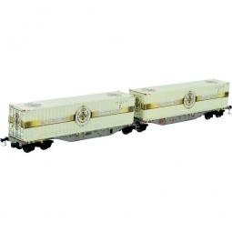 фото Вагон для перевозки грузов Mehano SGGMRSS 90' WLE Warsteiner 185-9