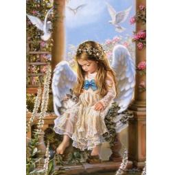 Купить Пазл 1500 элементов Castorland «Нежная любовь»