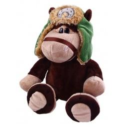 фото Мягкая игрушка со звуком Fluffy Family «Лошадка Мишаня»