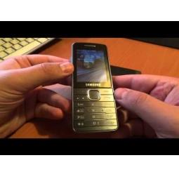 фото Мобильный телефон Samsung S5610. Цвет: золотистый