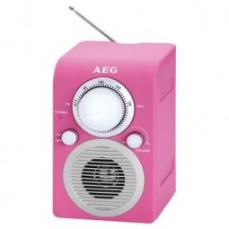 фото Радиоприемник AEG MR 4129. Цвет: розовый