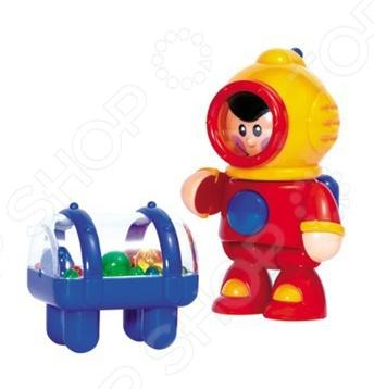 Игрушка для ванны Tolo Toys Водолаз развивающие игрушки tolo toys тюлень