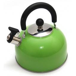 фото Чайник со свистком Катунь KT 105. Цвет: зеленый