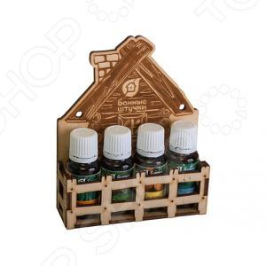 Набор эфирных масел Банные штучки 33401 набор масел для бани главбаня 3х17 мл лимон сосна эвкалипт