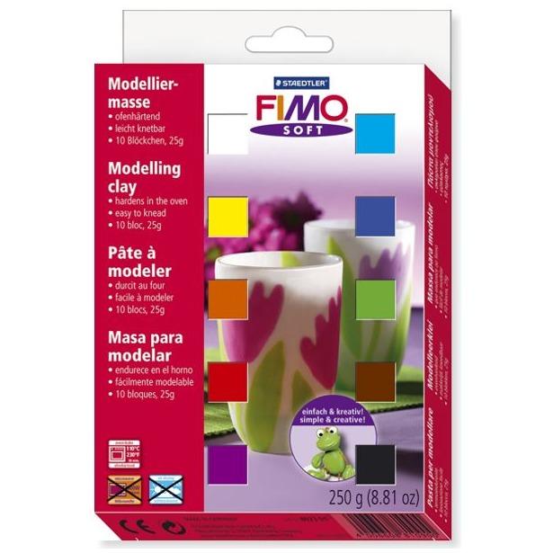 фото Глина полимерная для детей Fimo Soft 8023-01