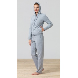 фото Брюки домашние женские BlackSpade 5721. Цвет: серый меланж. Размер одежды: XL