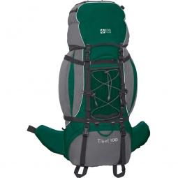 фото Рюкзак экспедиционный NOVA TOUR «Тибет 100 N». Цвет: зеленый, серый